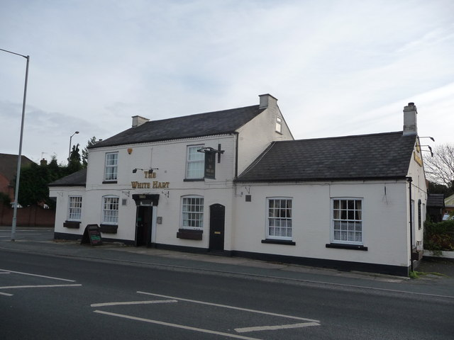 The White Hart pub, Fernhill Heath, Worcester