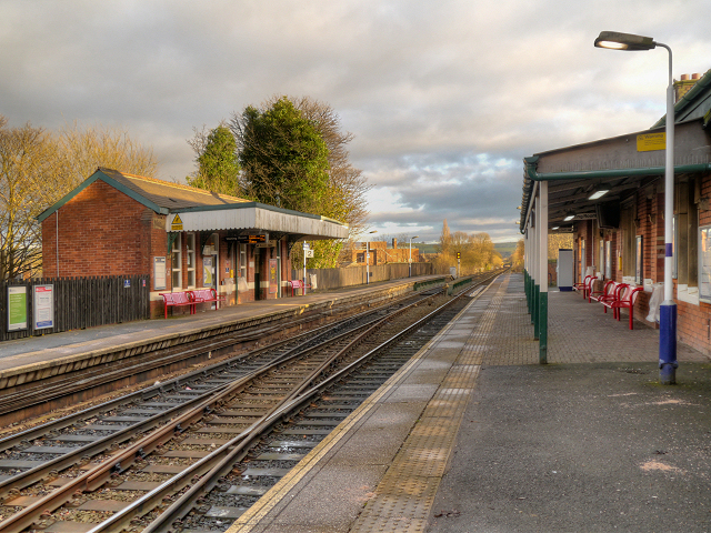 Romiley Railway Station