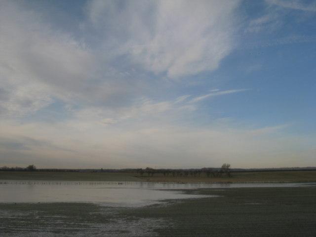 The northern end of Lake Skerne