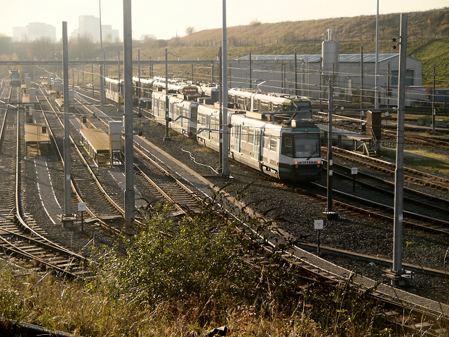 Metrolink Sidings, Queen's Road