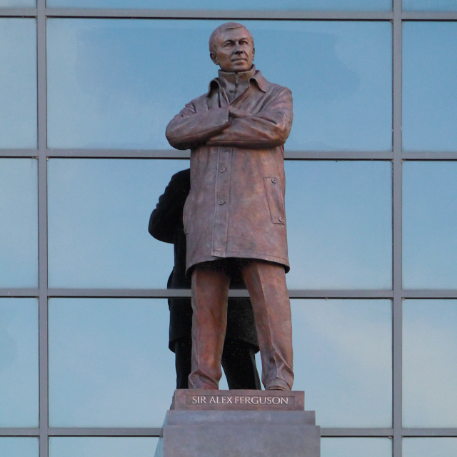 Sir Alex Ferguson Statue, Old Trafford