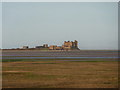 SD2363 : Piel Castle from Walney Island by Alexander P Kapp