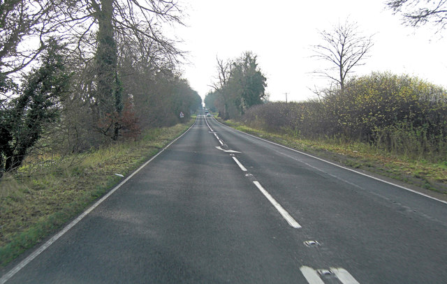 A33 approaches junction with Winchester Road
