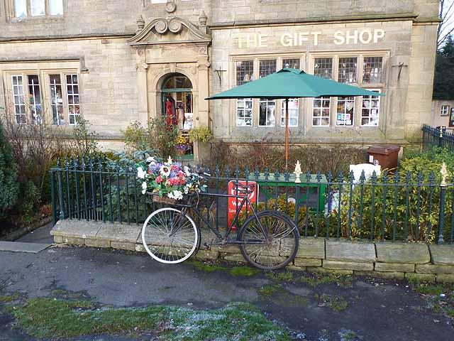 Floral bike at Allendale