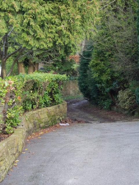 Bridleway - Creskeld Drive