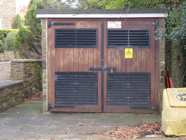 Electricity Substation No 5175 - Creskeld Lane