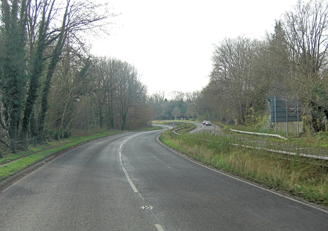 A33 southwest of Abbots Worthy