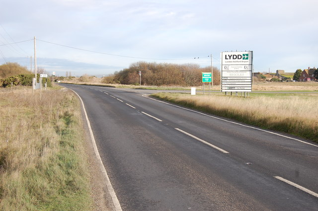 Entrance to Lydd Airport