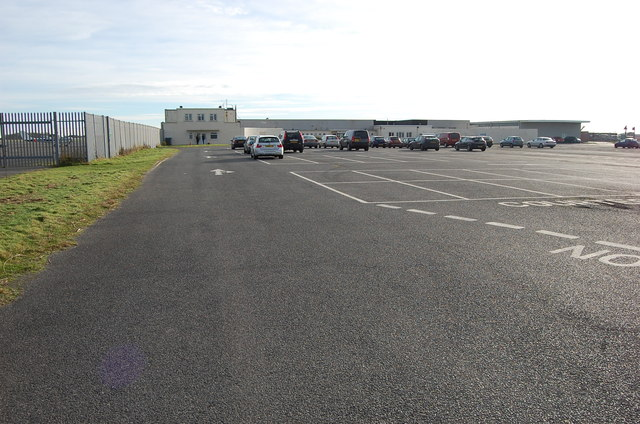 Car Park at Lydd Airport