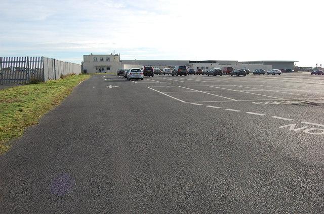 Car Park at Lydd Airport