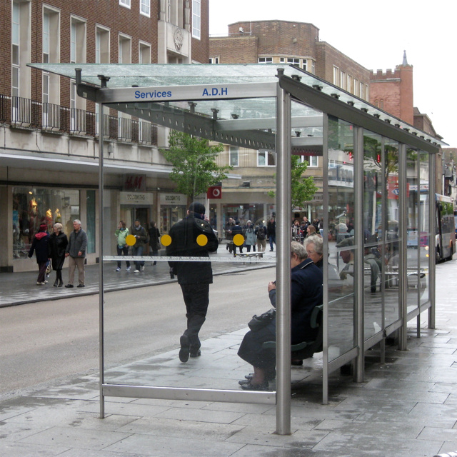Bus shelter, High Street