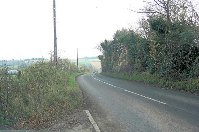 Belmore Lane southwest of Warren Farm