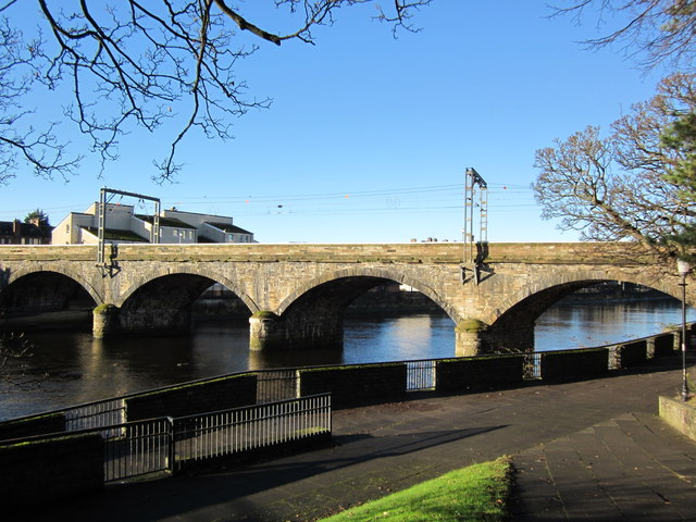 Railway Bridge over the River Ayr