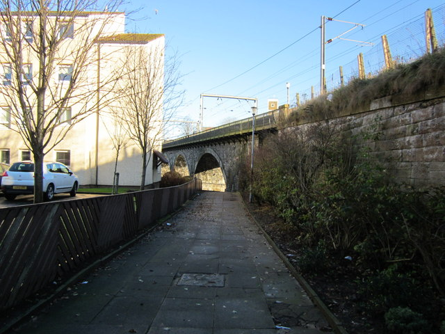 Walkway to Riverside, Ayr