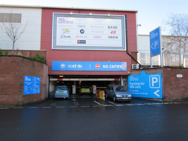 Shopping Centre Car Parking