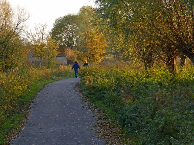 Path across the Watermead Country Park