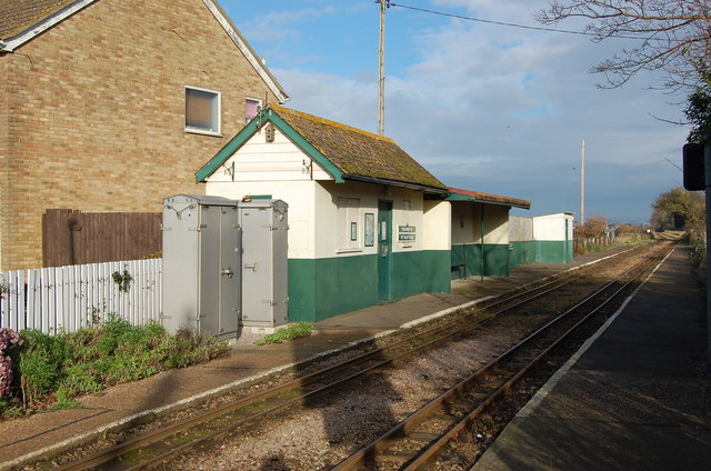 St Mary's Bay Station, RH&D Railway