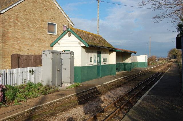 St Mary's Bay Station, RH&D Railway