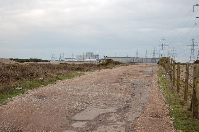 Track near Muddymore Pit