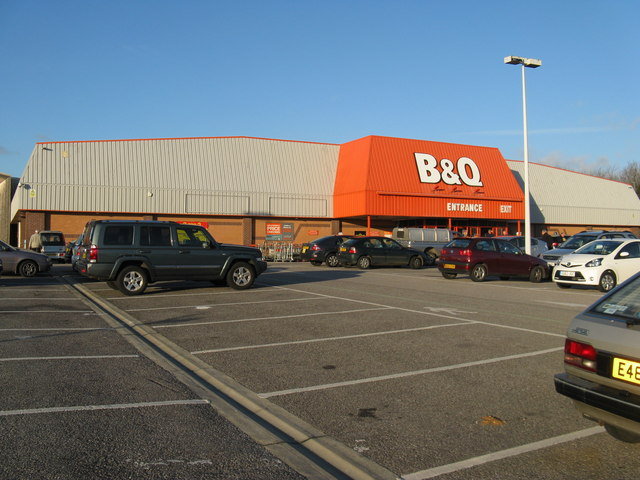 DIY store on Lyons Retail Park