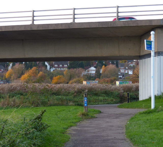 A563 Watermead Way bridge