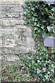 SP4809 : Benchmark on the SE parapet of Godstow Bridge by Roger Templeman