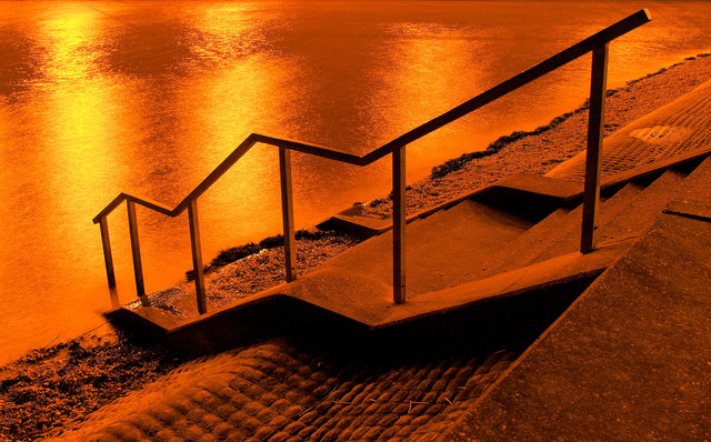 Steps to the Humber