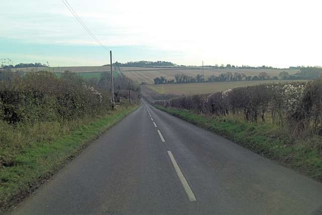 Belmore Lane northwest of Bottom Pond Farm