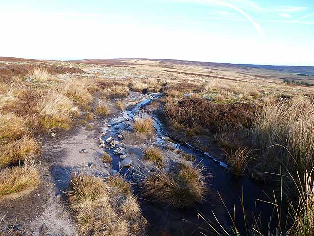 The Broad Way below Harwood Carrs