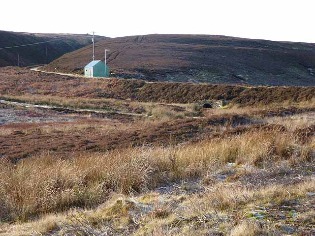 Hut servicing Ladle Well Reservoir