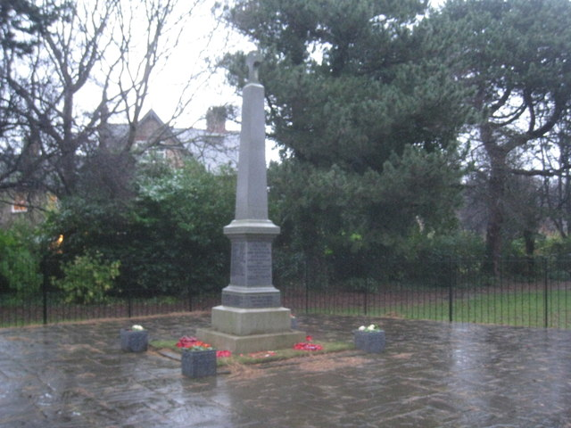 War memorial, Eaglescliffe