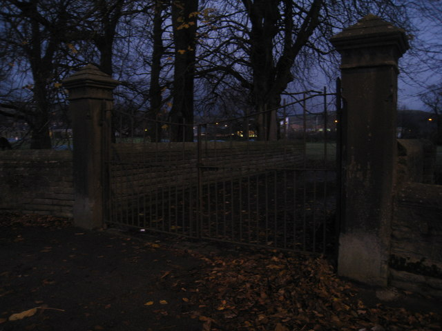 The iron gates clanged shut and darkness descended