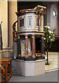 TQ2873 : St Mary & St John, Balham - Pulpit by John Salmon