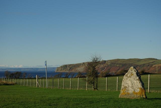 Standing Stone at Kildonan