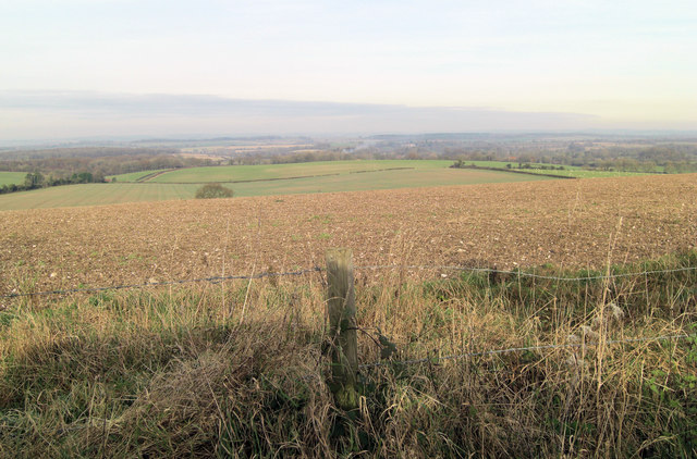 Arable land east of Kilmeston Down