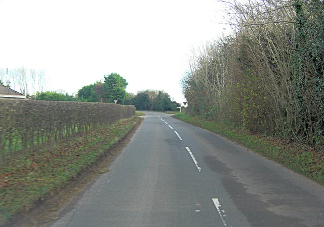 Unnamed crossroads beside Rooksgrove Farm