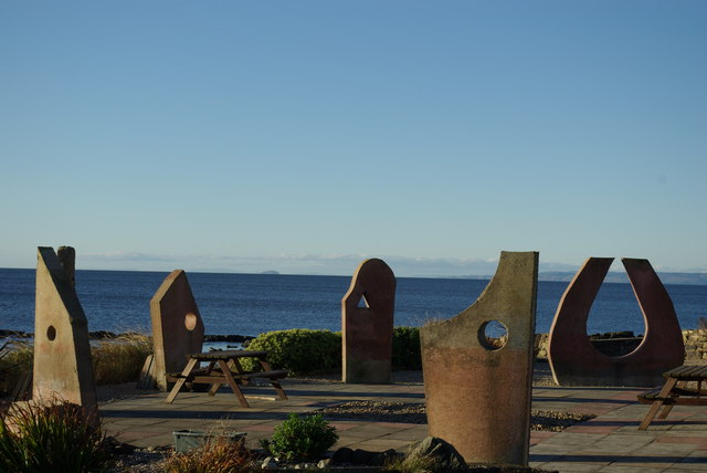 Arthouse stone circle at Kildonan Hotel