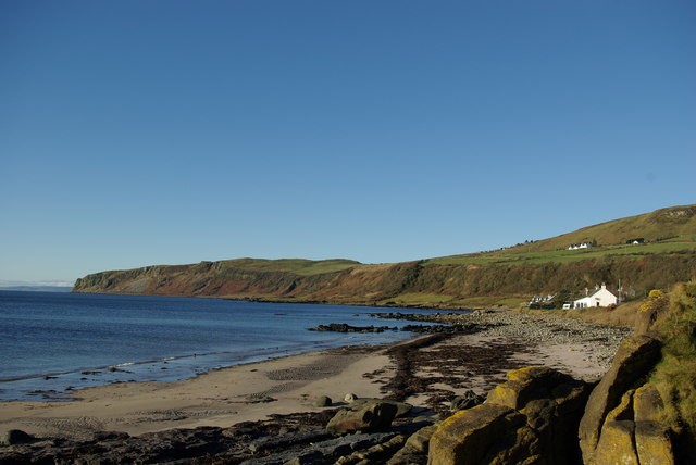 Kildonan - beach west of Porta Buidhe