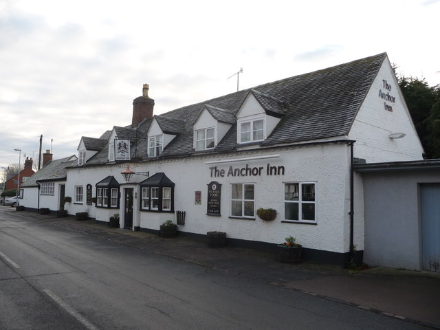The Anchor Inn, Main Street, Wyre Piddle