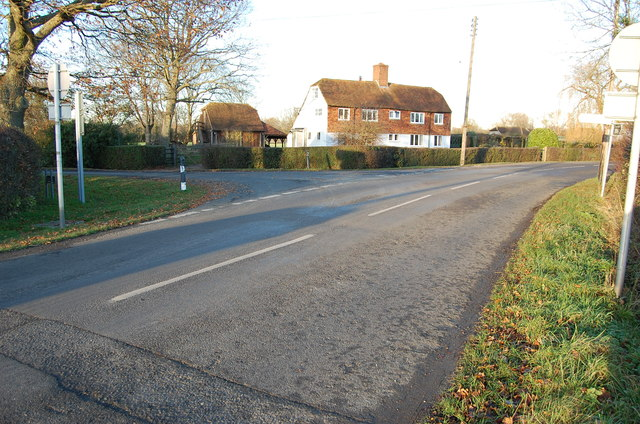 Junction of Pluckley Road and Mill Lane
