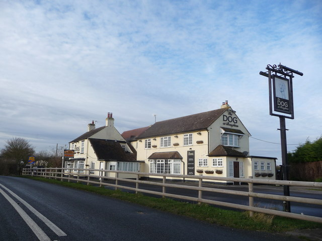 The Dog at Baughton - another closed pub