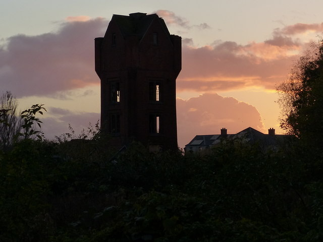 Derelict Wolsey Factory tower