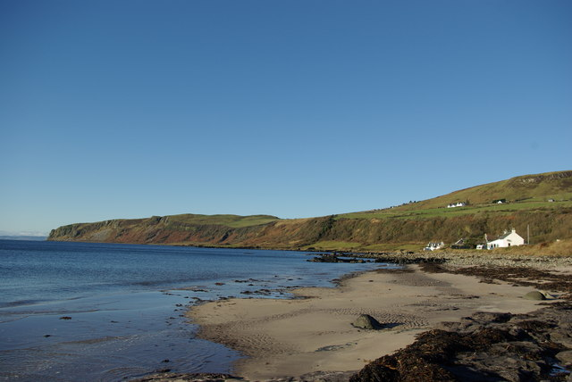 Beach west of Porta Buidhe, Kildonan