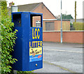 J2564 : Doggy bin, Lisburn by Albert Bridge