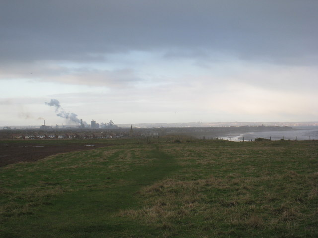 View from the cliff top
