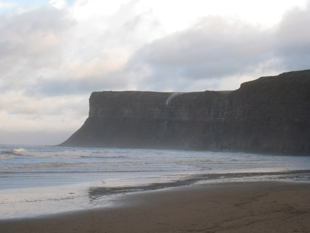 View towards Huntcliff
