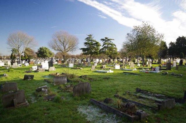 Romford Cemetery Crow Lane