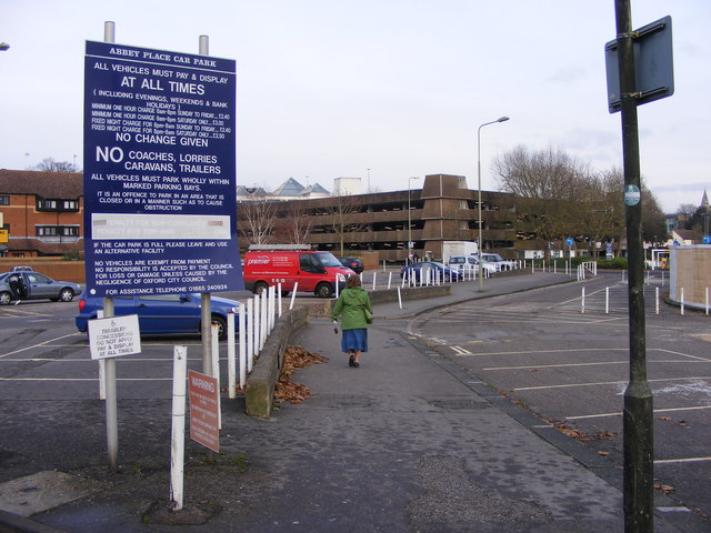 Abbey Place Car Park