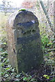 SP4809 : Boundary stone on south side of Godstow Road by Roger Templeman