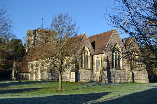 All Saints Church, Hursley
